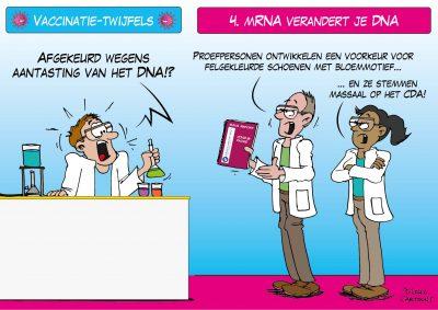Vaccinatie-twijfels mRNA verandert je DNA coronavaccin vaccin vaccinatie vaccinatiebewijs vaccinatieplicht bijwerkingen coronavirus COVID19 coronamaatregelen inenting Pfizer Moderna Astra Zenica Corona, coronavirus, coronacrisis, COVID-19