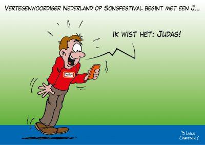 Vertegenwoordiger Nederland op Eurovisie Songfestival in Rotterdam begint met een J Jeangu Macrooy