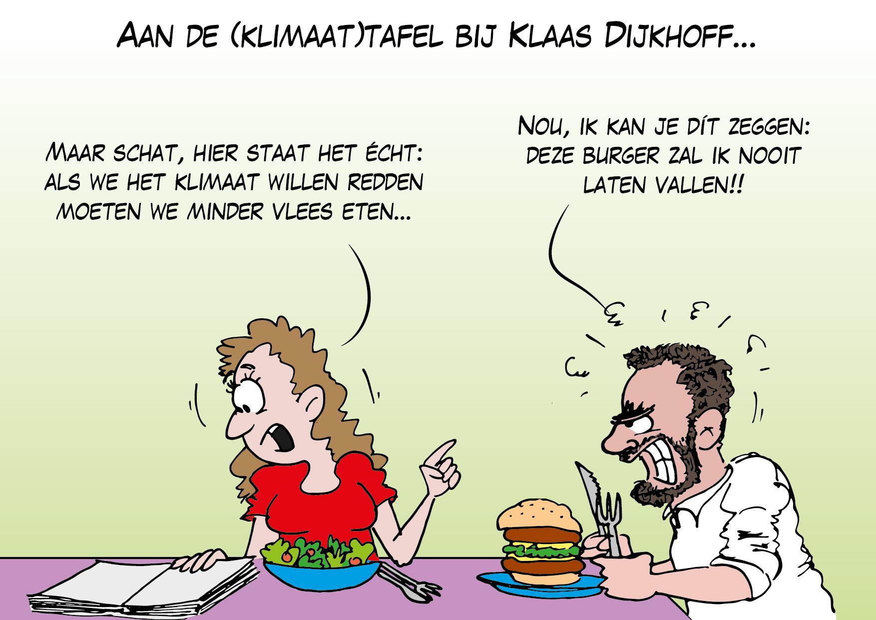 Aan de (klimaat)tafel bij Klaas Dijhoff…