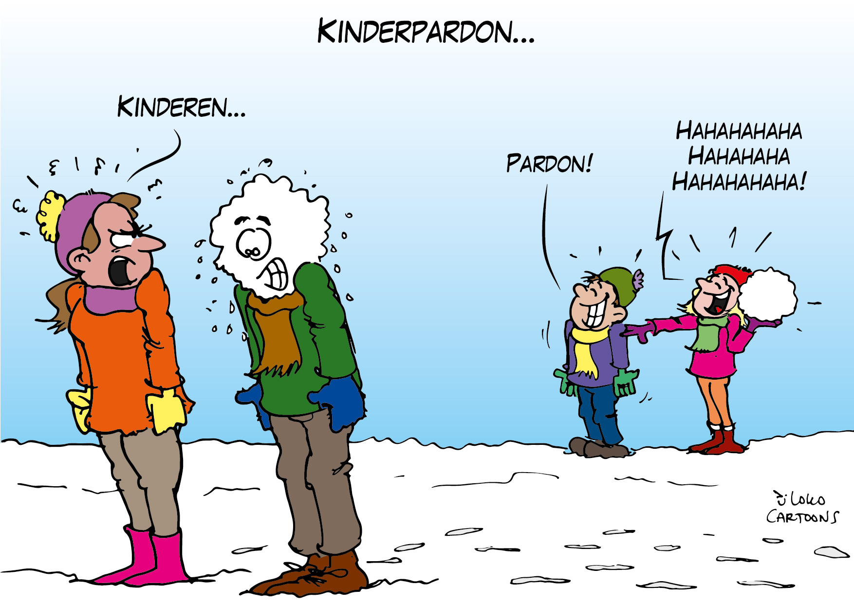 Kinderpardon…