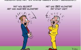 Rijkswaterstaat en ANWB ruzieën over filerecord