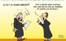 Drie tot vier jaar cel voor hoteloplichters Henk en Jolanda