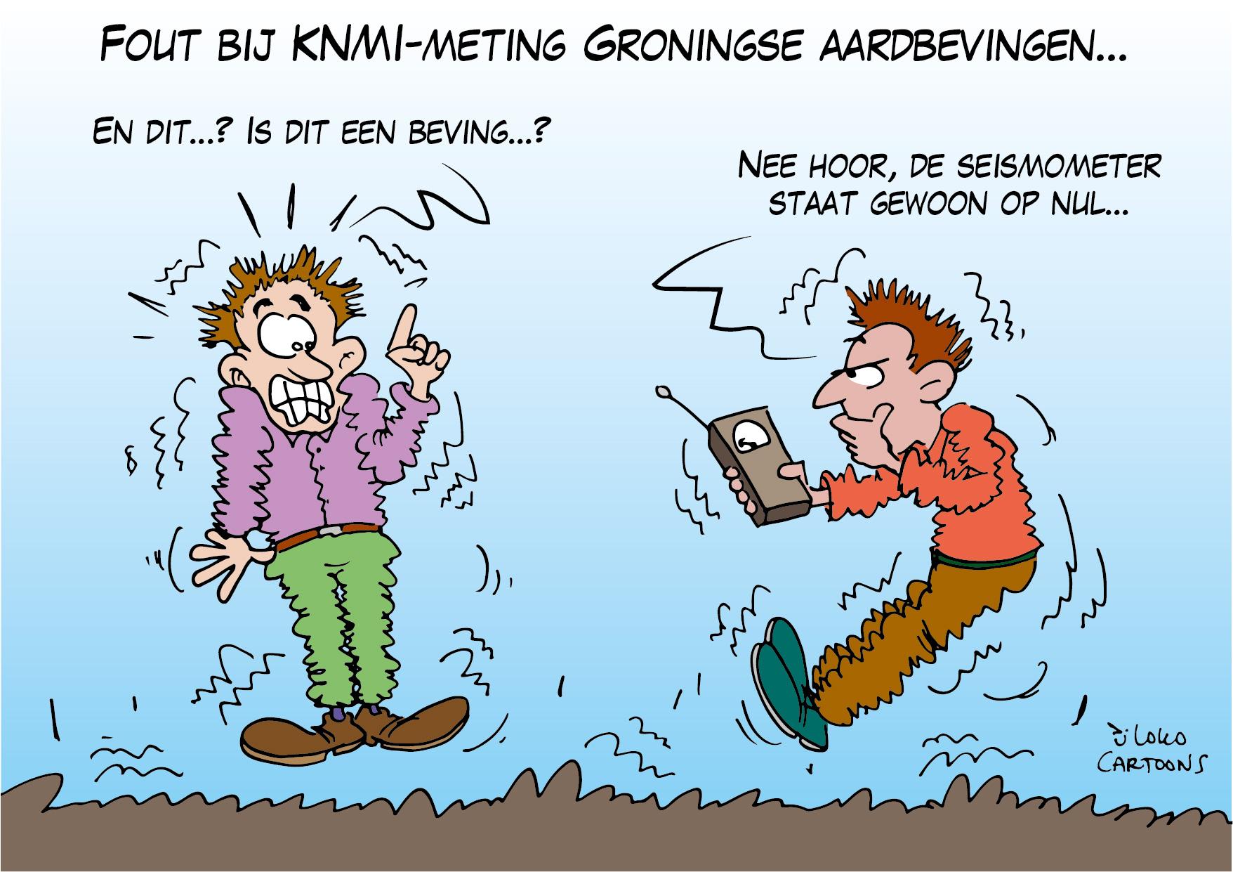 Fout bij KNMI-meting Groningse aardbevingen…