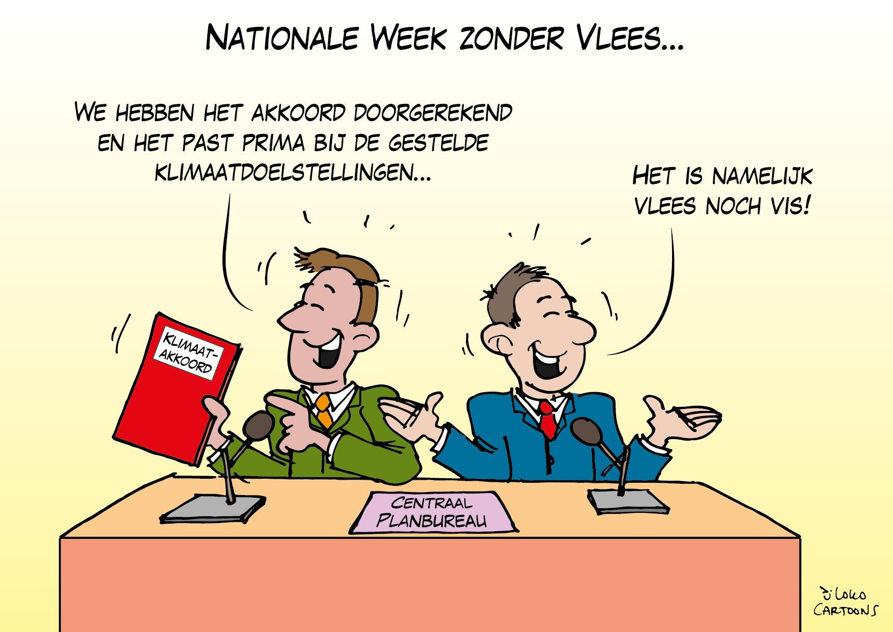 Nationale week zonder vlees…