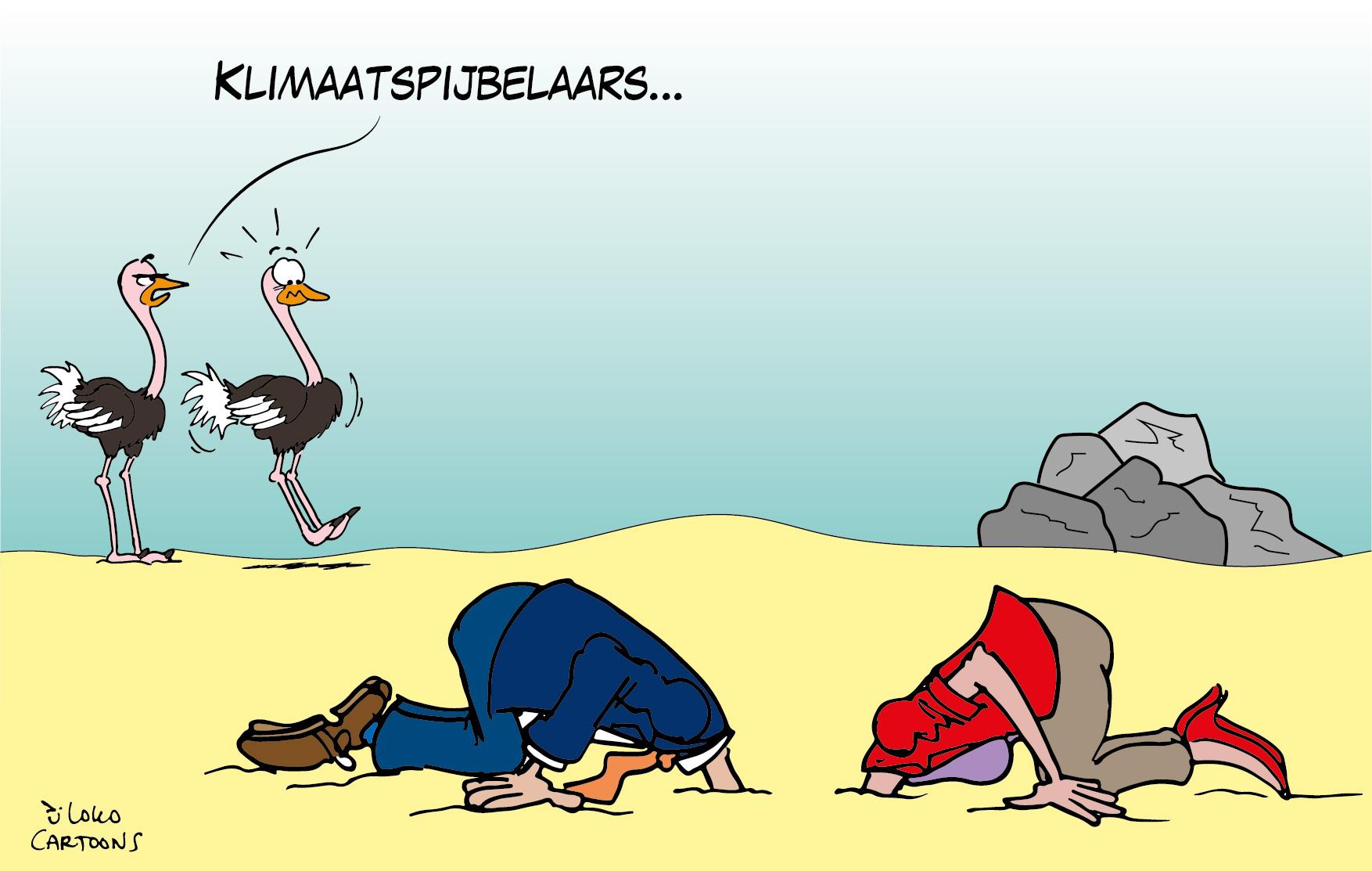 Klimaatspijbelaars…