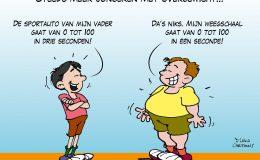 Steeds meer jongeren met overgewicht