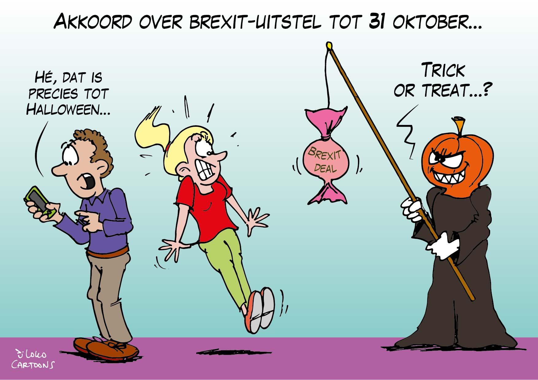 Akkoord over Brexit-uitstel tot 31 oktober…