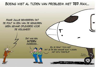 Boeing wist al tijden van probleem met 737 Max