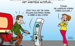 Slimme laadpalen moeten Amsterdam helpen met ambitieus autoplan