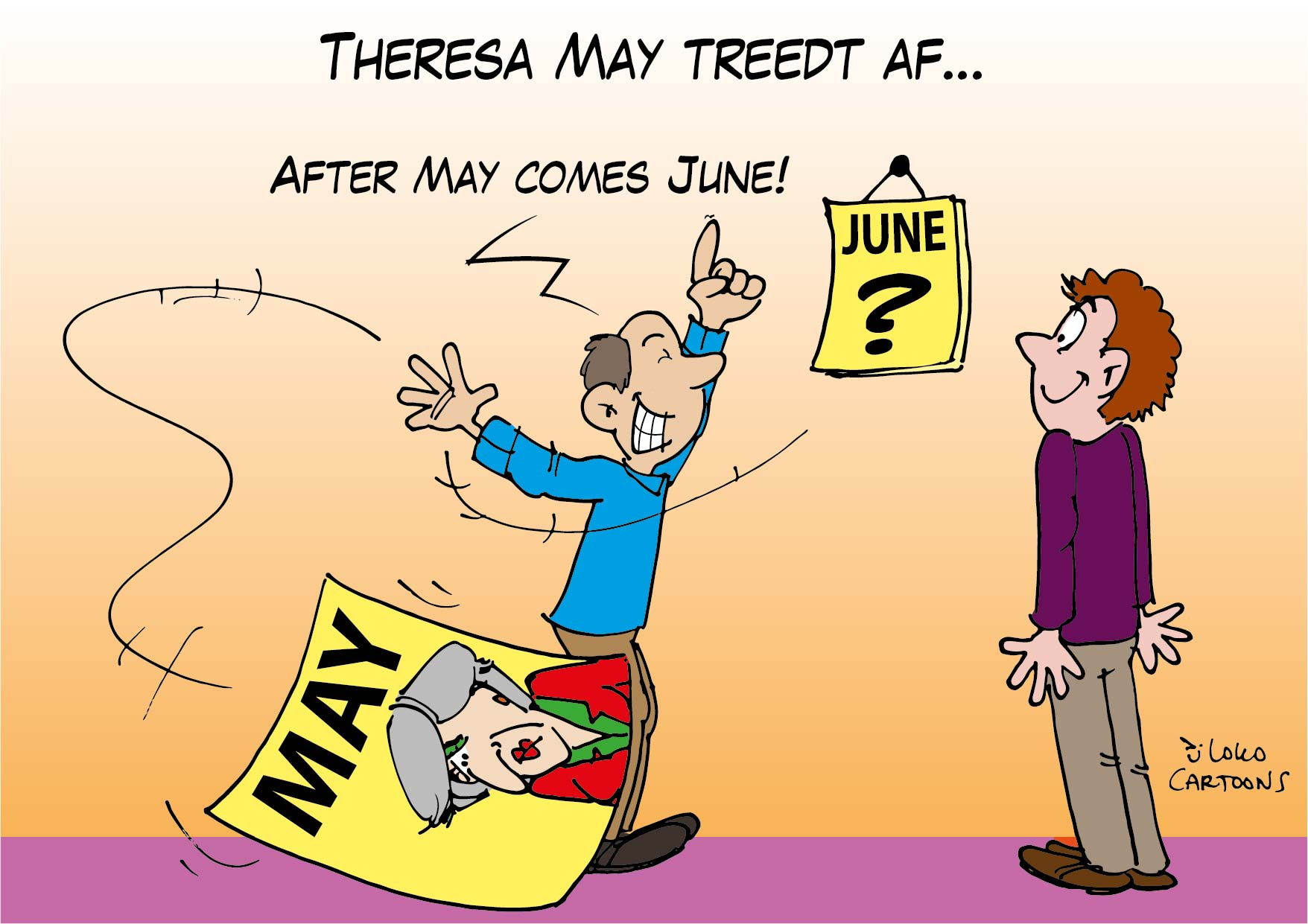Theresa May treedt af…