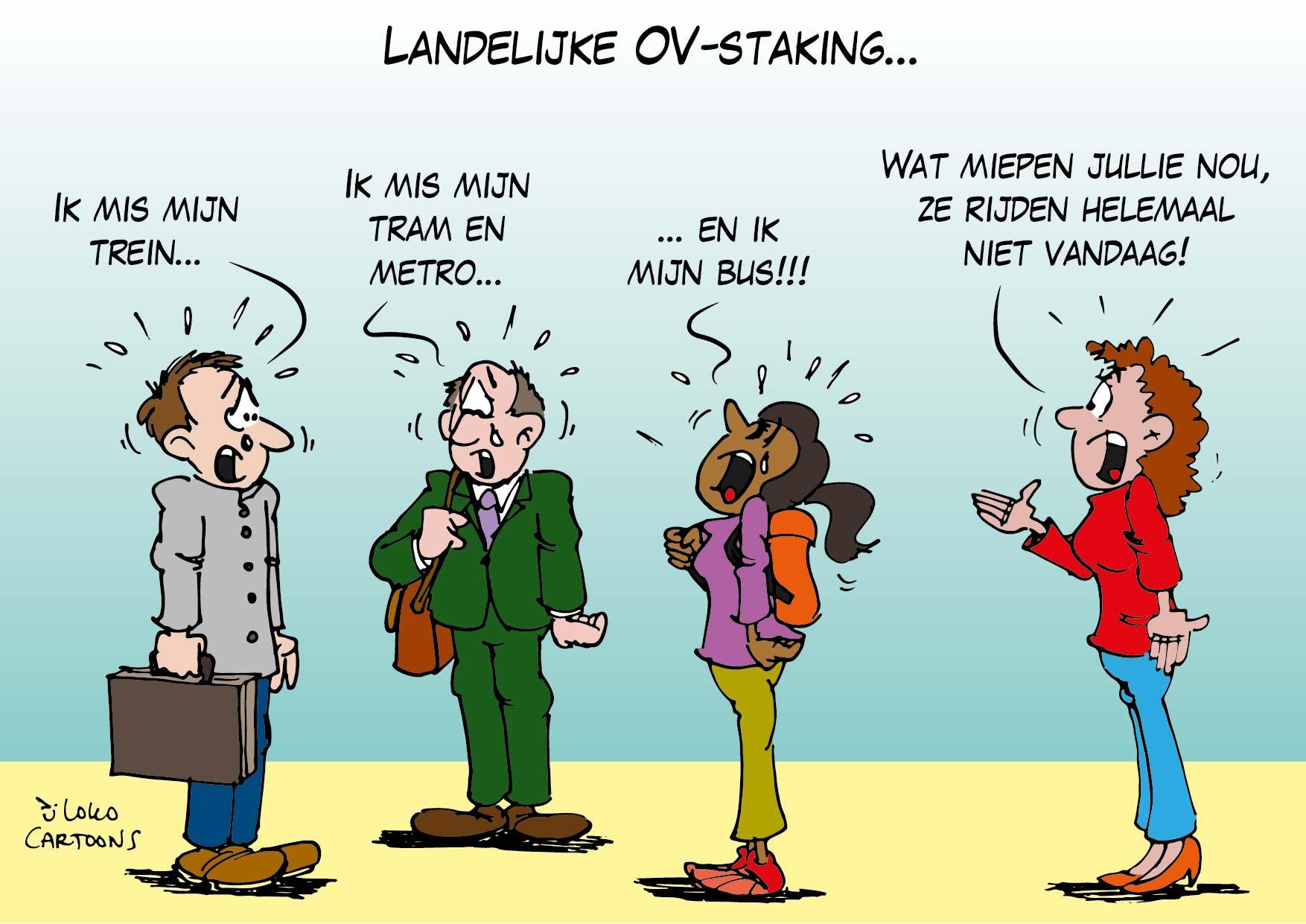 Landelijke OV-staking…