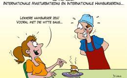 Internationale Masturbatiedag en Internationale Hamburgerdag