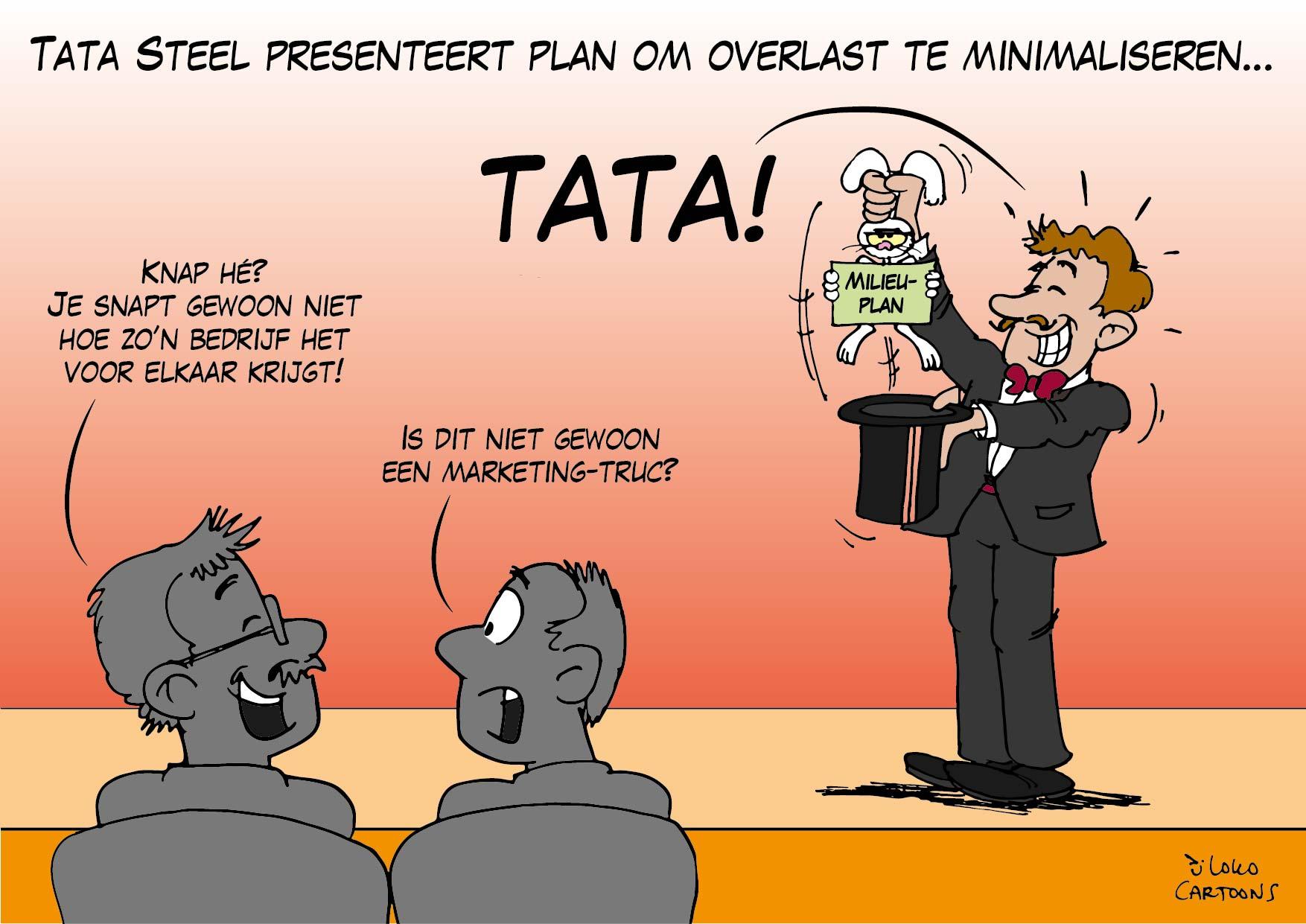 Tata Steel presenteert plan om overlast te minimaliseren…