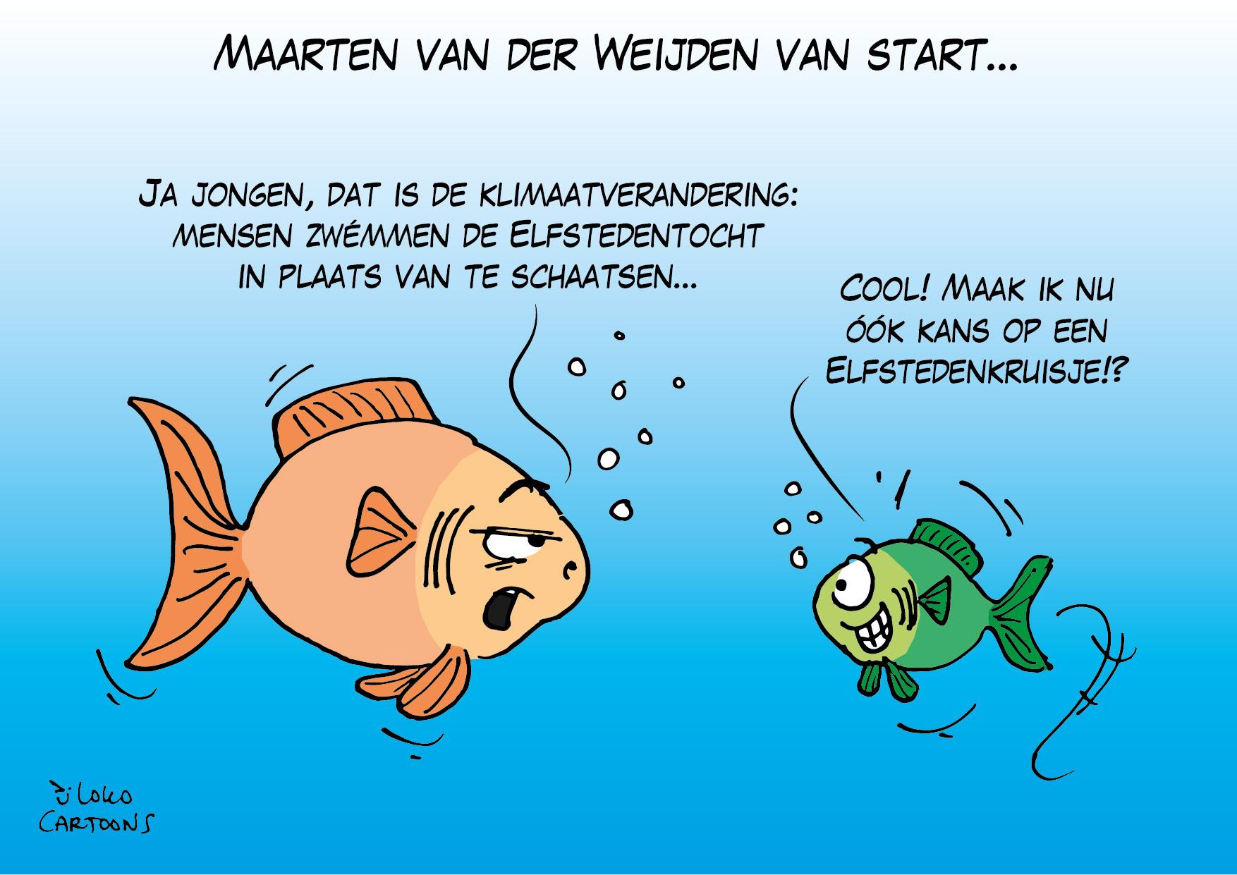 Maarten van der Weijden van start…