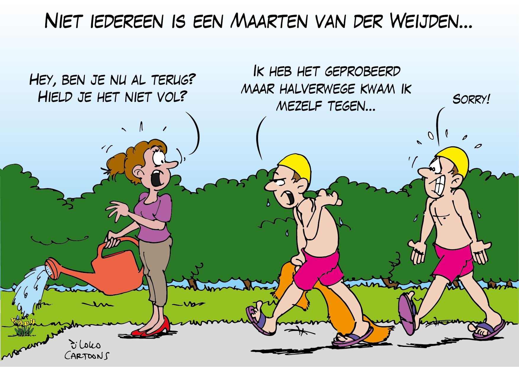 Niet iedereen is een Maarten van der Weijden…