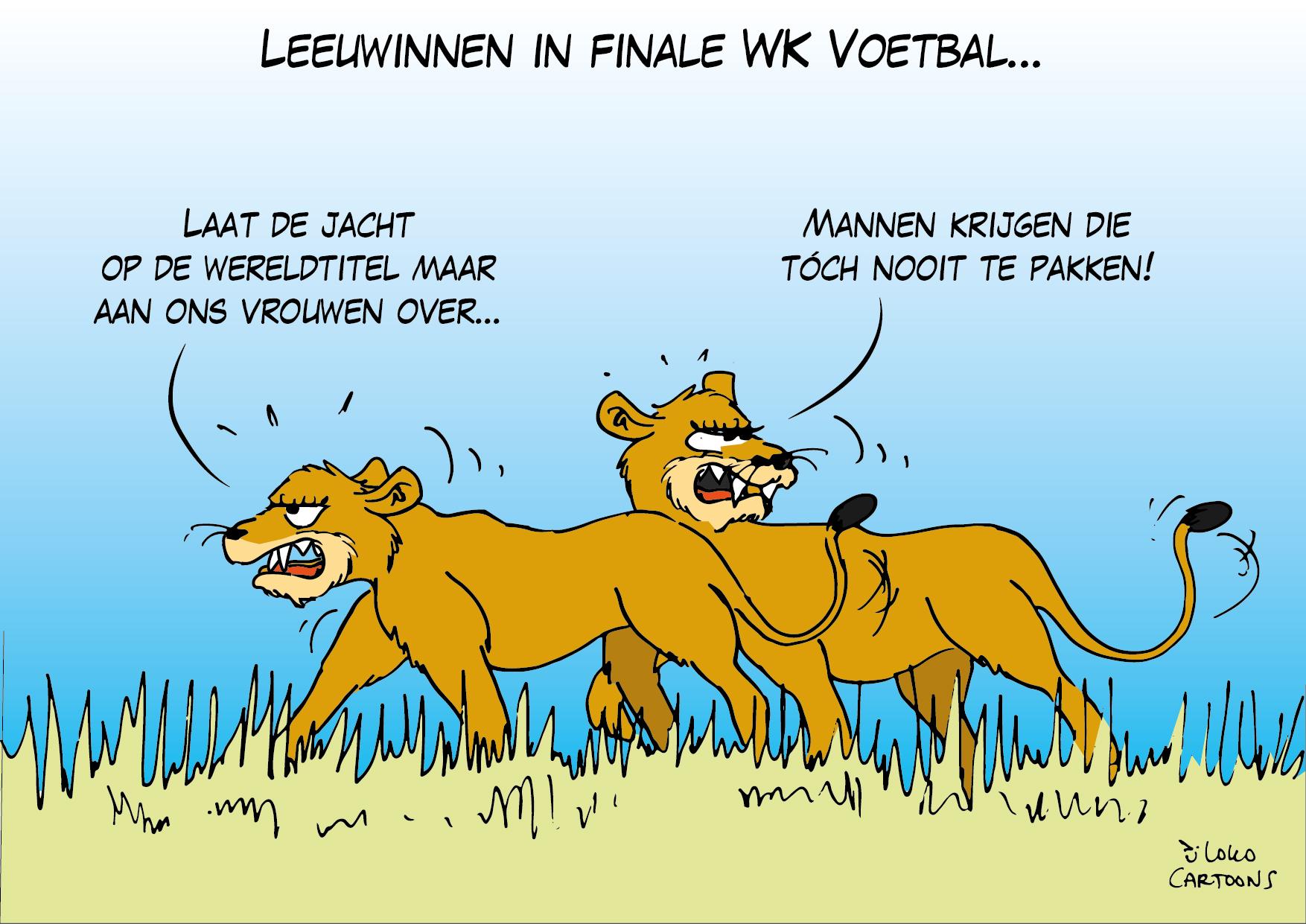 Leeuwinnen in finale WK Voetbal…