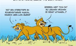 Laatste voorstelling The Lion King
