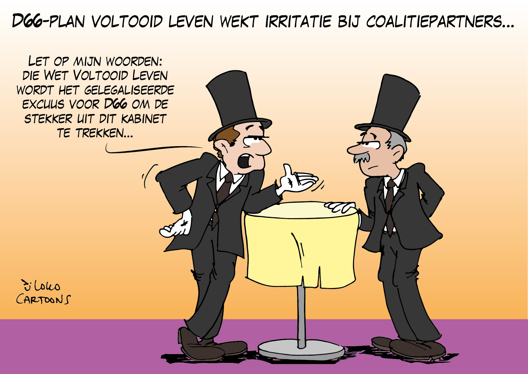 D66-plan voltooid leven wekt irritatie op bij coalitiepartners…