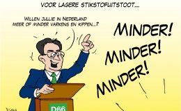 D66 wil aantal kippen en varkens halveren voor lagere stikstofuitstoot