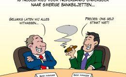 Ig Nobelprijs voor Nederlands onderzoek naar smerige bankbiljetten