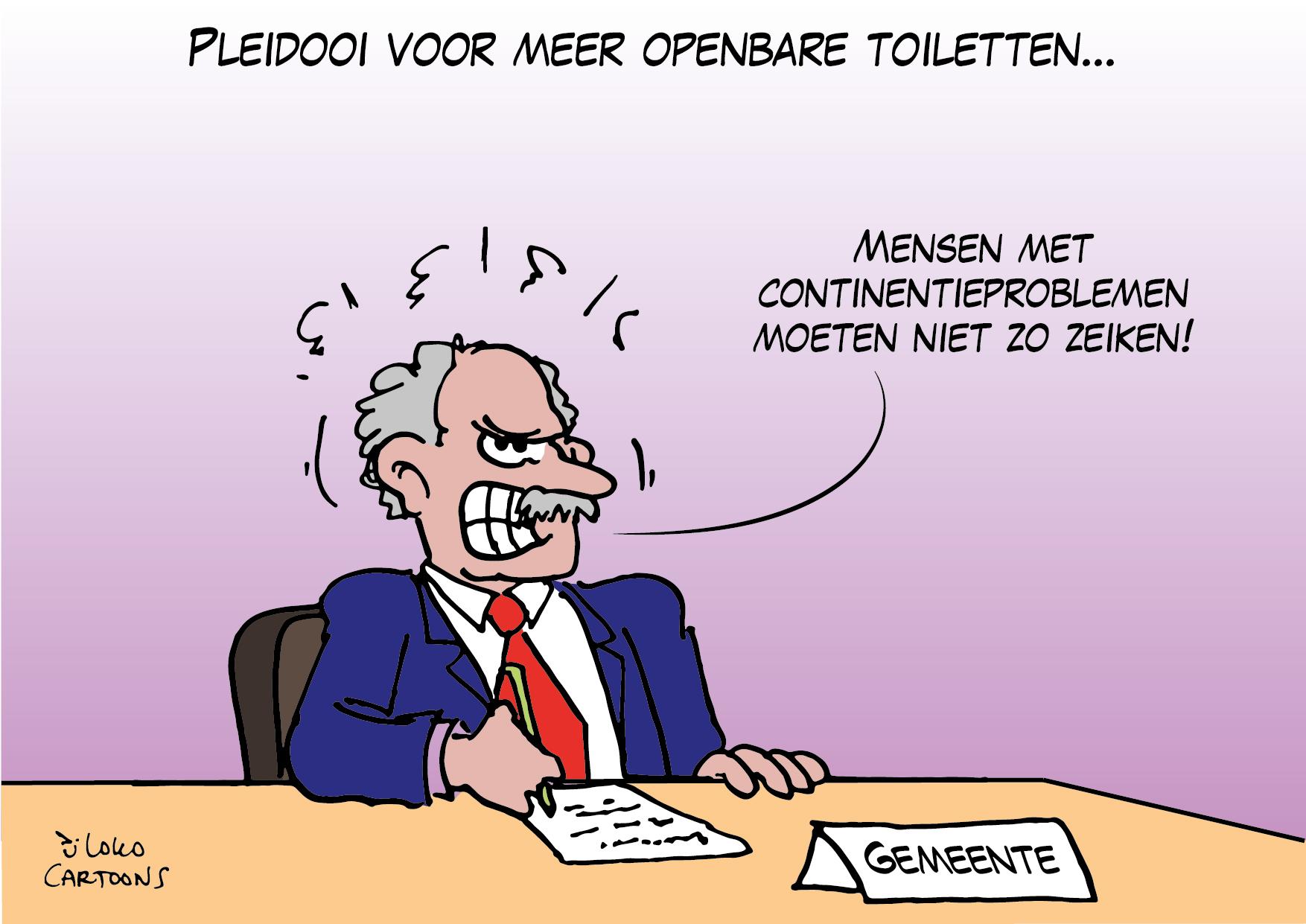 Pleidooi voor meer openbare toiletten…