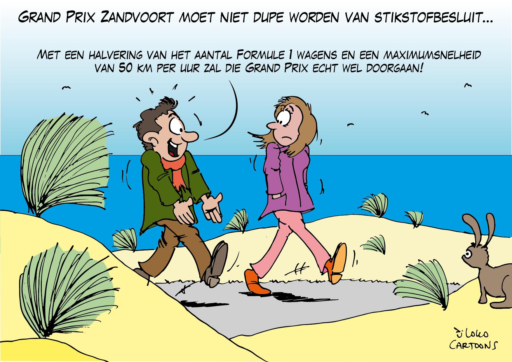 Grand Prix Zandvoort moet niet de dupe worden van stikstofbesluit…
