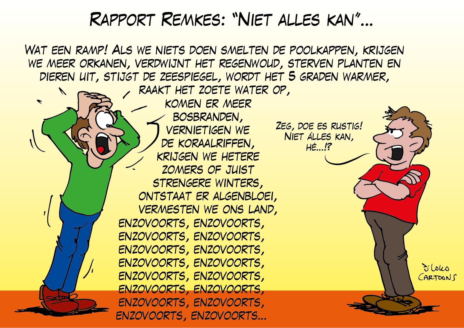 Rapport Remkes: Niet alles kan…