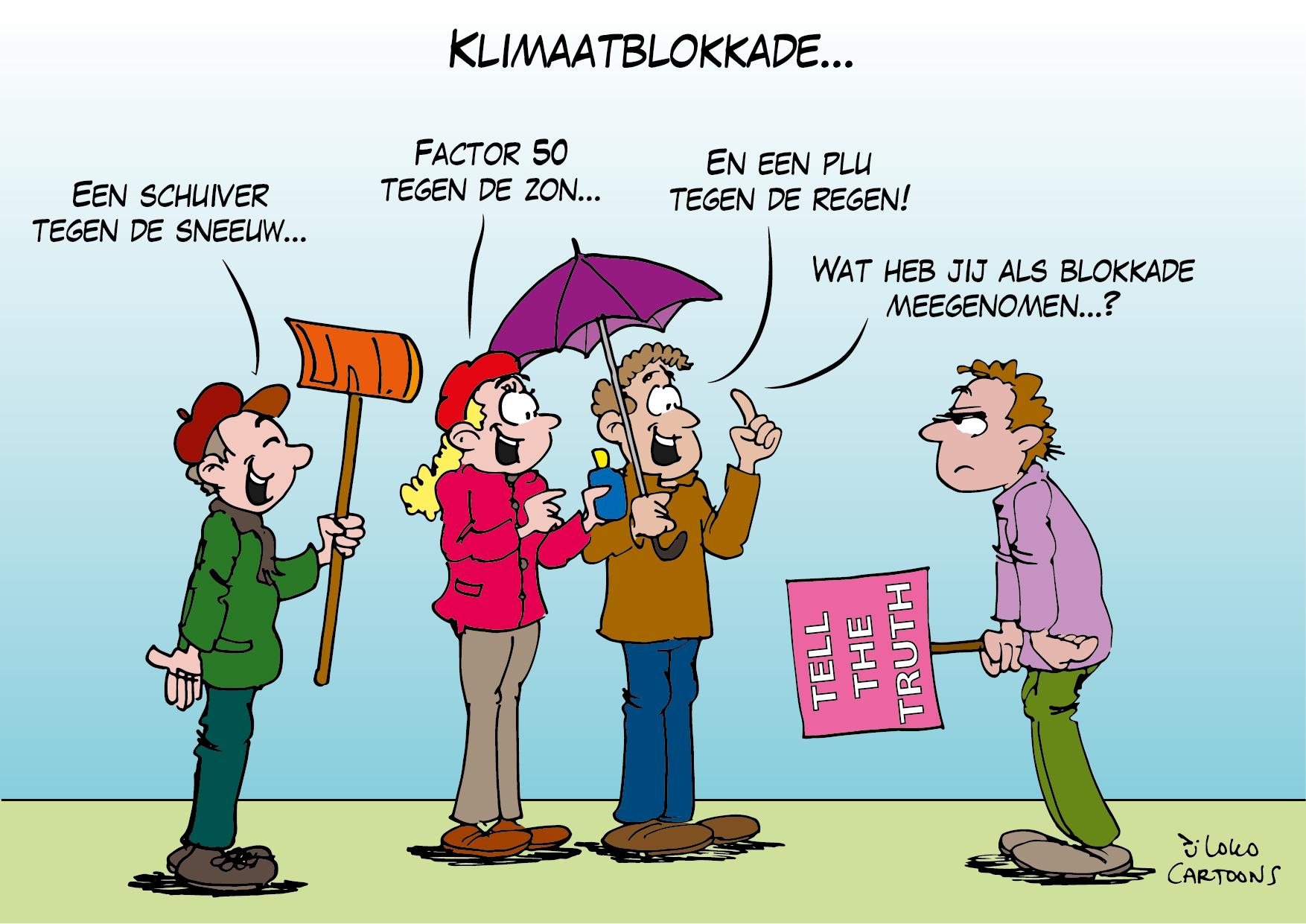 Klimaatblokkade…