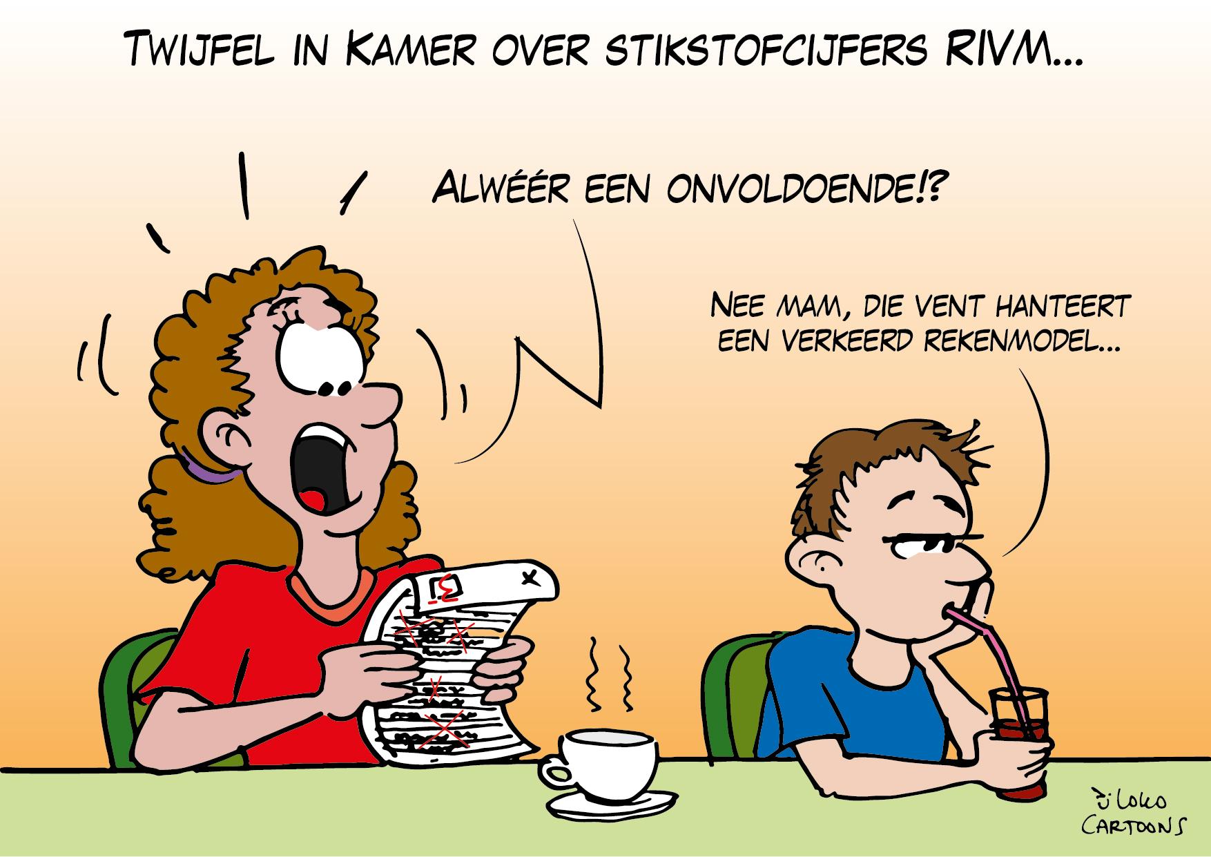 Twijfel in Kamer over stifstofcijfers RIVM…