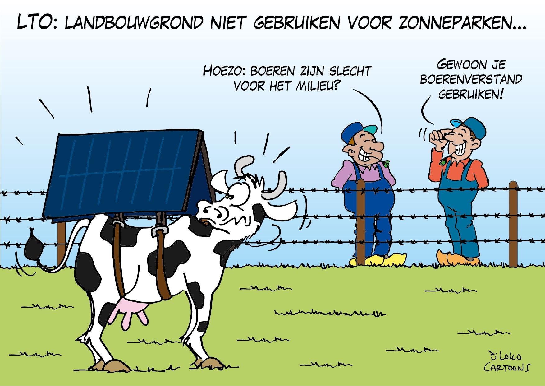 LTO: landbouwgrond niet gebruiken voor zonnepanelen…