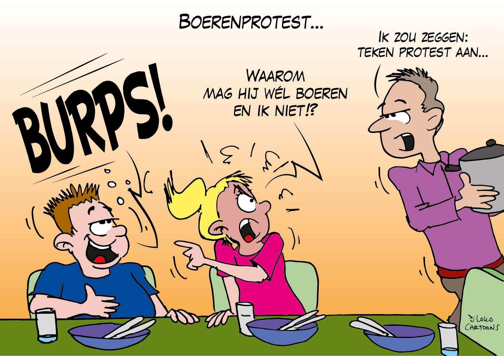 Boerenprotest…