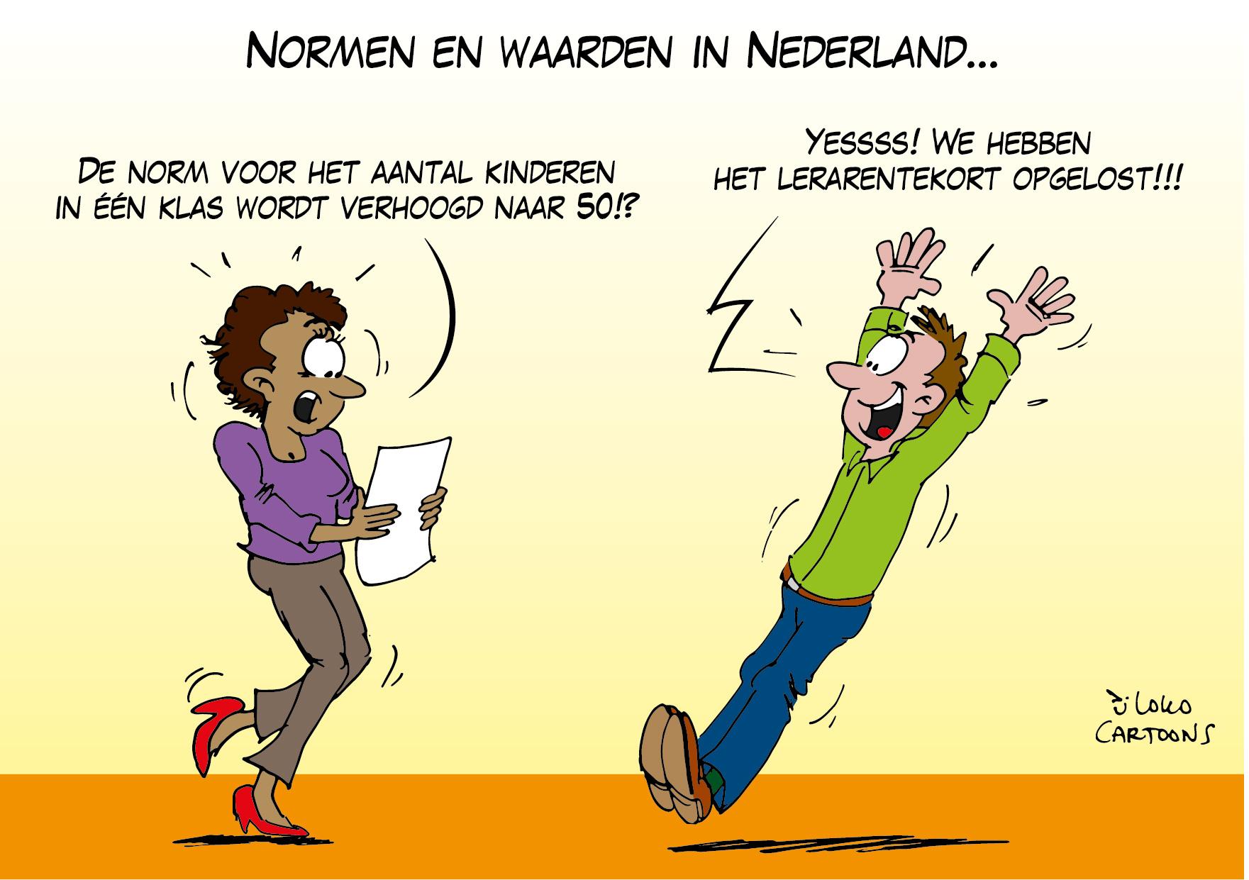 Normen en waarden in Nederland…