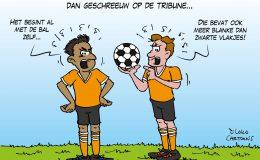 Racisme in voetbal gaat veel verder dan geschreeuw op de tribune