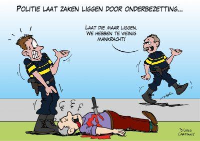 Politie laat zaken liggen door onderbezetting