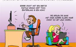Na Zwarte Piet nu ook Sinterklaas onderwerp van discussie