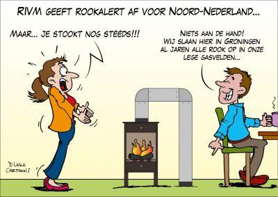 RIVM geeft rookalert af voor Noord-Nederland