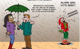 Klimaathysterie witte kerst kerstfeest feestdagen klimaat milieu broeikaseffect