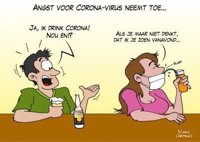 Angst voor Coronavirus neemt toe