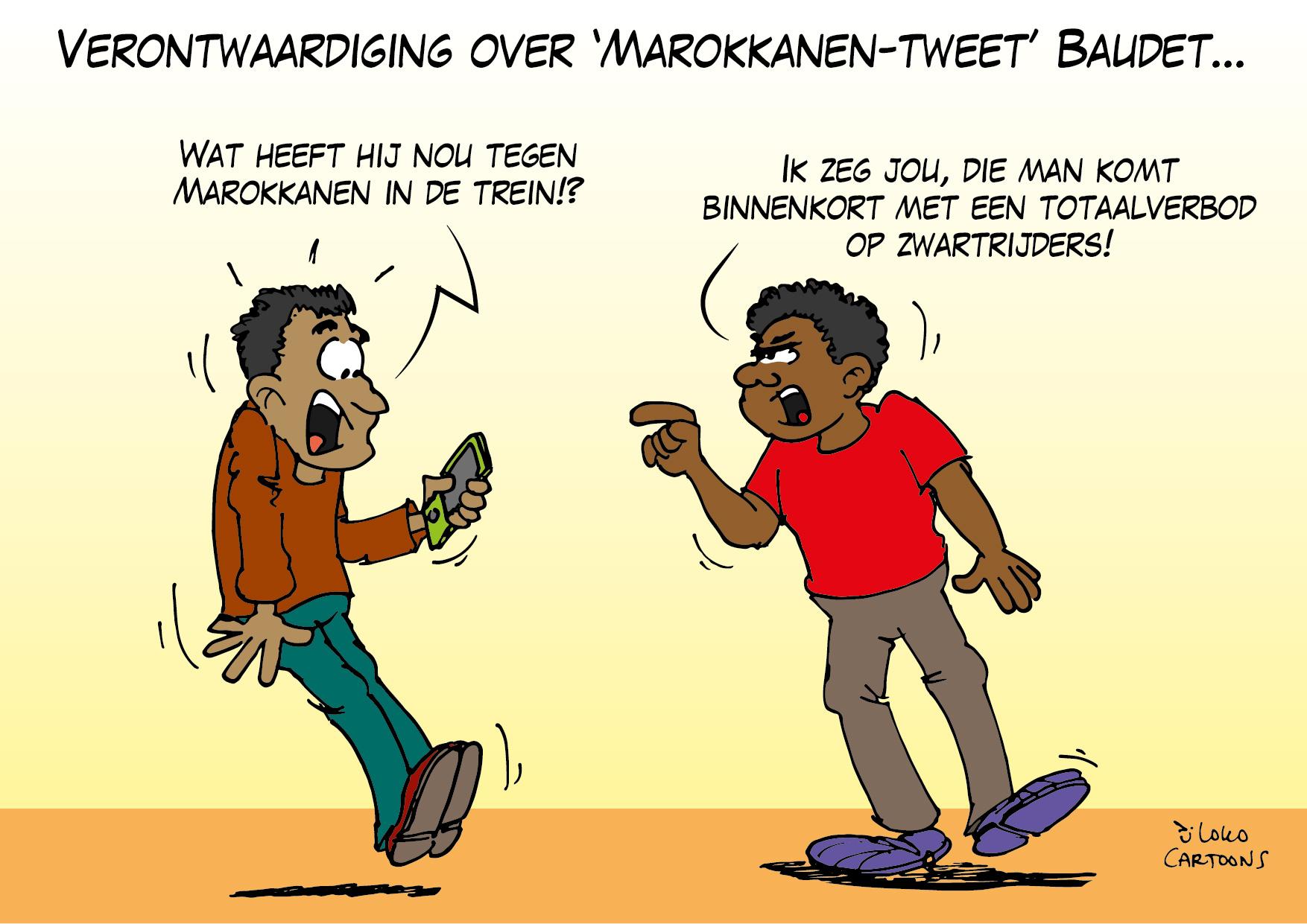 Verontwaardiging over 'Marokkanen-tweet' Baudet