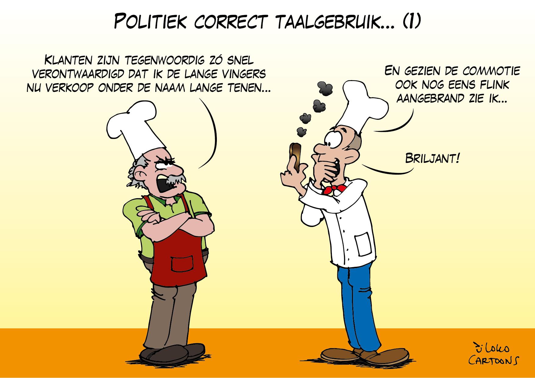 Politiek correct taalgebruik (1)…