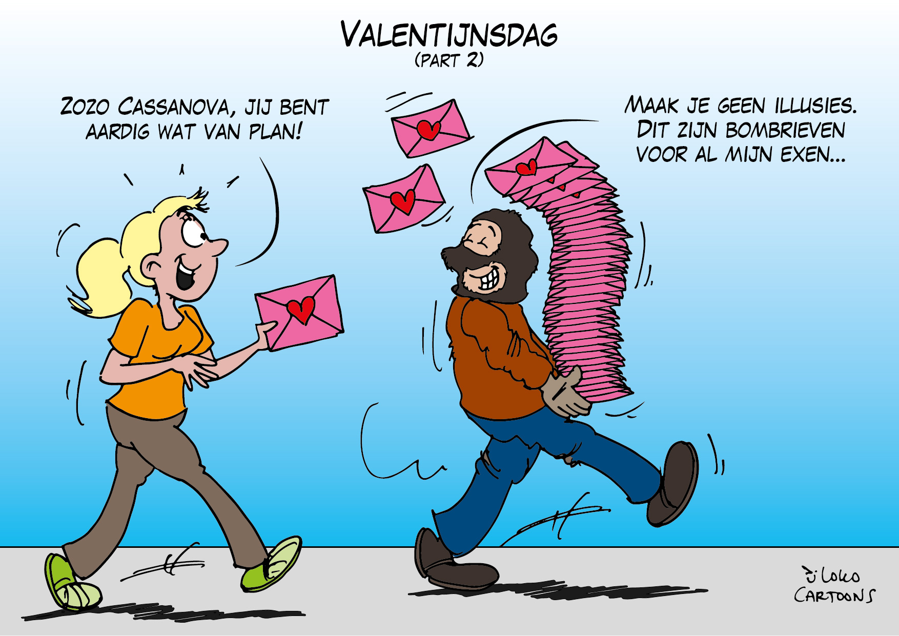 Valentijnsdag…