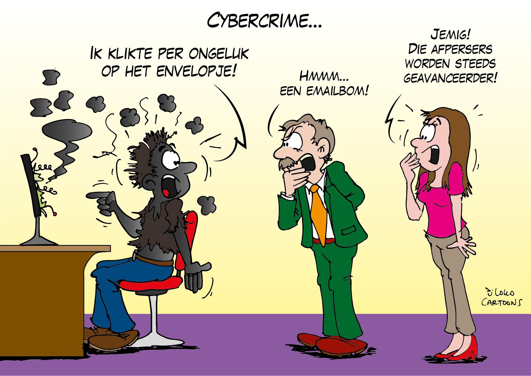 Cybercrime…