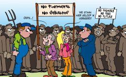 Opnieuw boerenprotest tegen stikstofbeleid