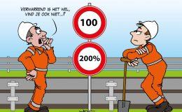 Kosten verlaging maximumsnelheid twee keer zo hoog als gedacht