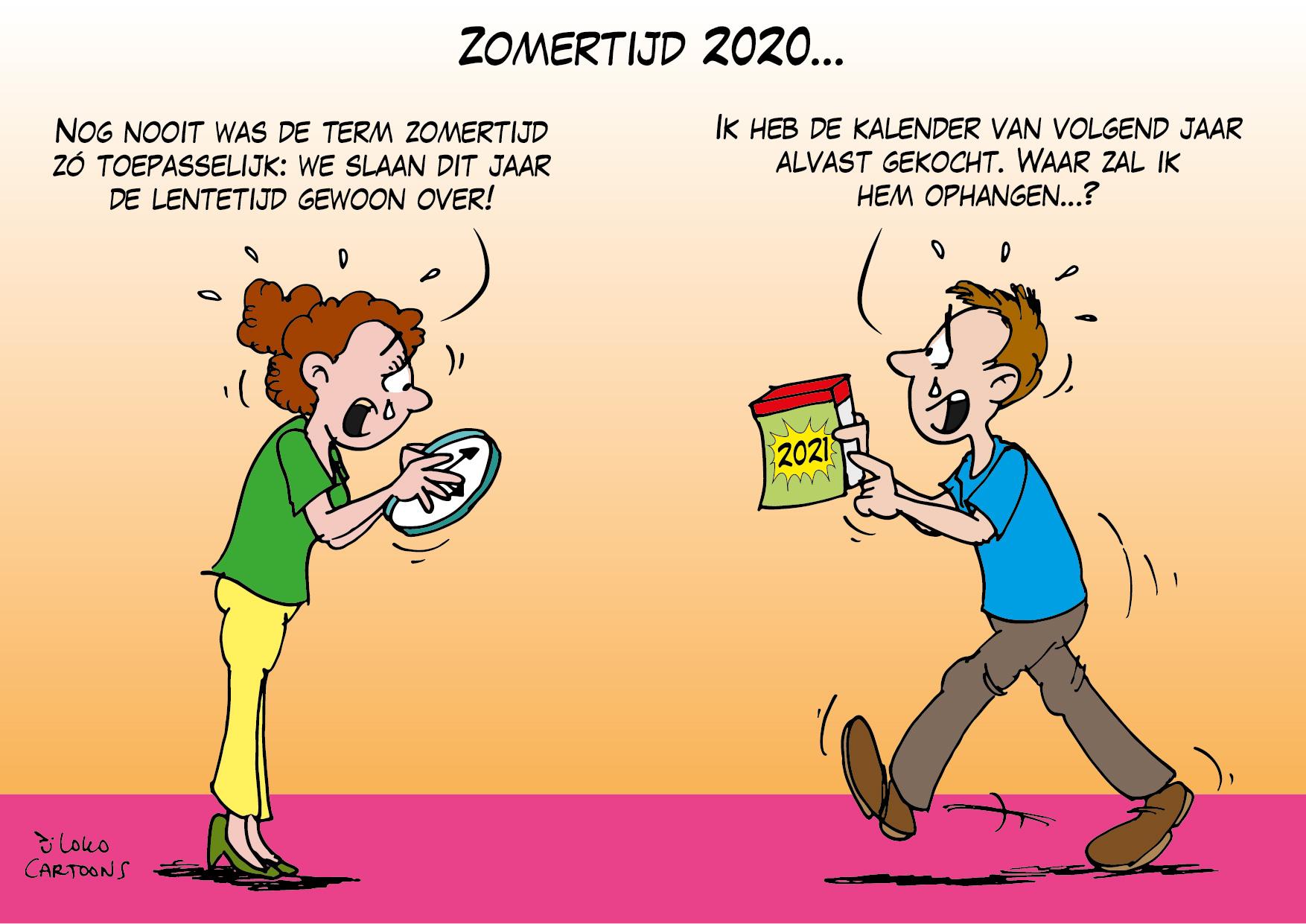 Zomertijd 2020…