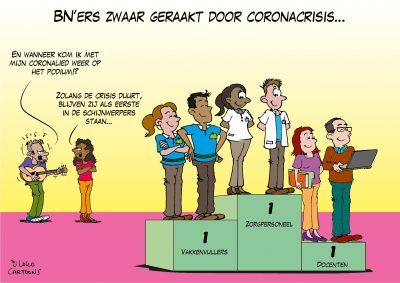 BN'ers zwaar geraakt door coronacrisis Corona, coronavirus, coronacrisis, COVID-19