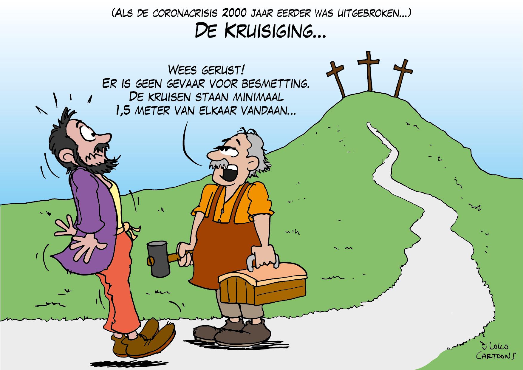 De kruisiging…