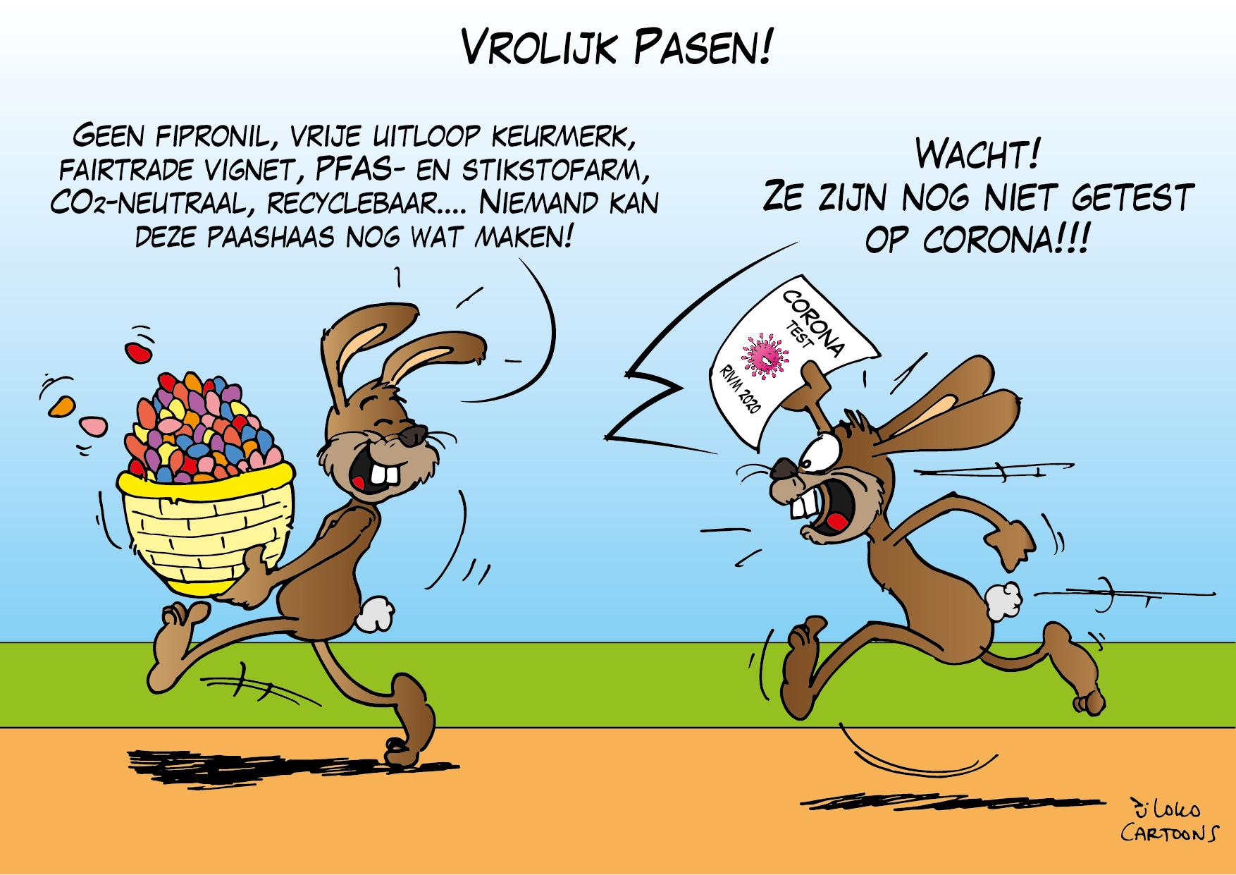 Vrolijk Pasen! - Loko Cartoons
