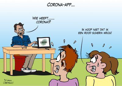 Corona-app Corona, coronavirus, coronacrisis, COVID-19