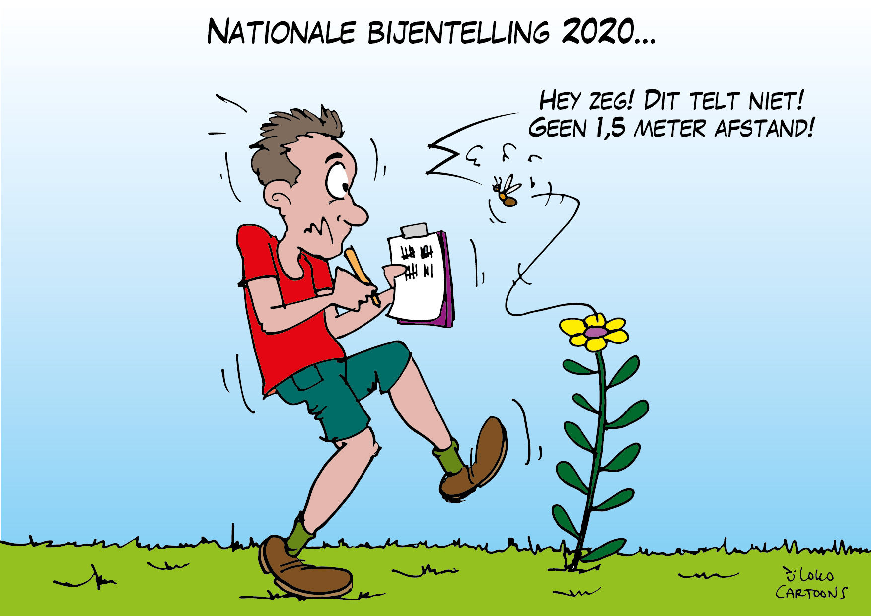 Nationale bijentelling 2020…